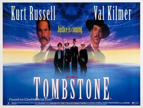 Tombstone - British Movie Poster