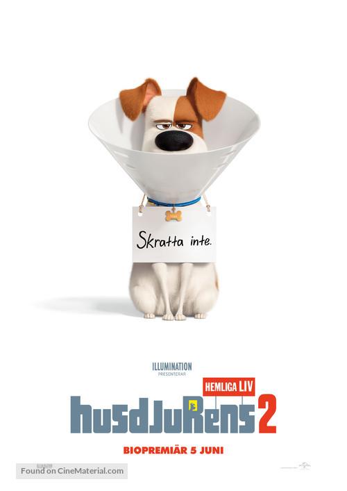 The Secret Life of Pets 2 - Swedish Movie Poster