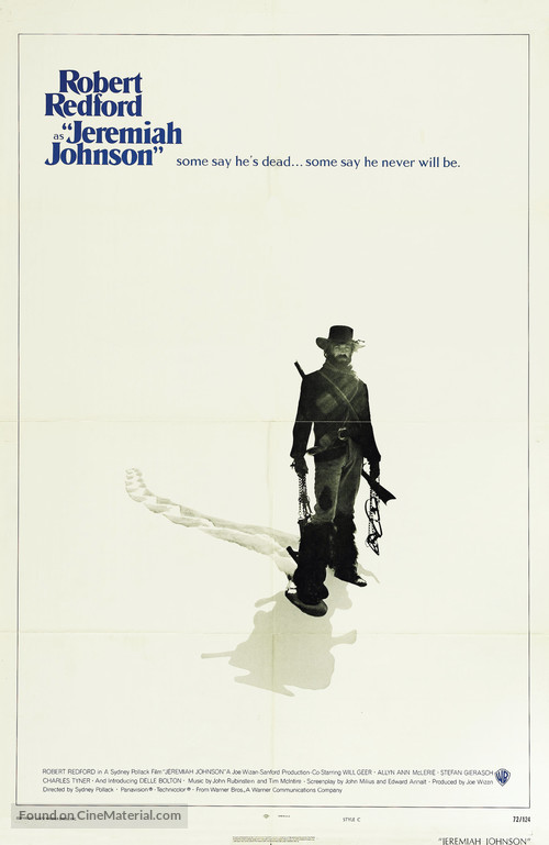 Jeremiah Johnson - Movie Poster