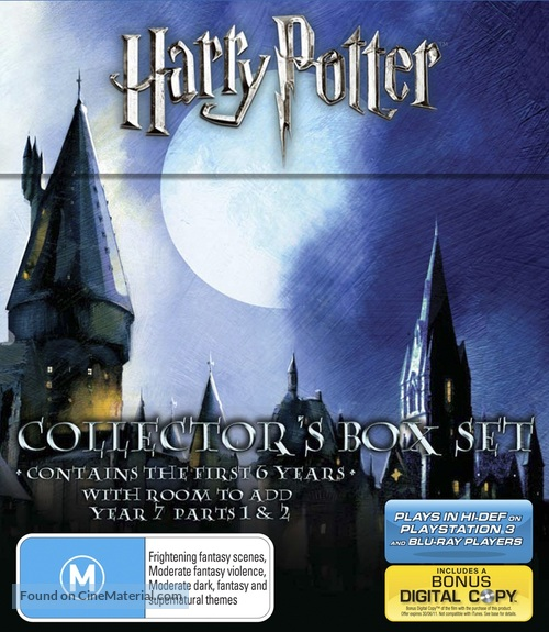 Harry Potter and the Chamber of Secrets - Australian Blu-Ray cover