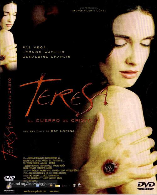 Teresa, el cuerpo de Cristo - Spanish Movie Cover
