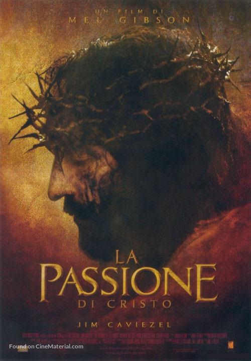 The Passion of the Christ - Italian Movie Poster