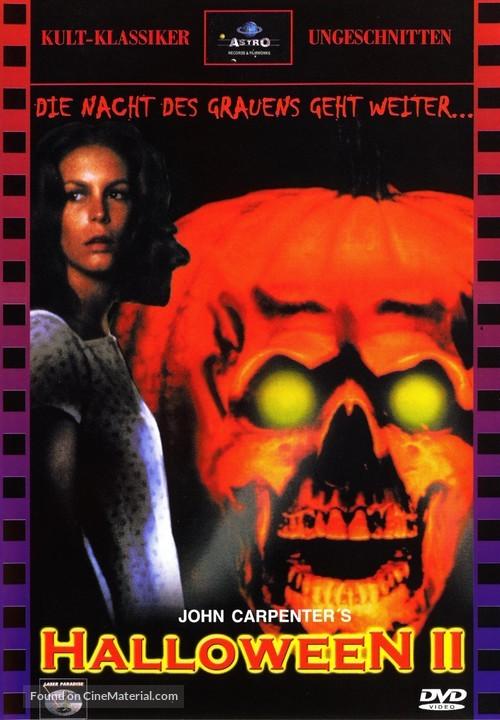 Halloween II - German DVD cover