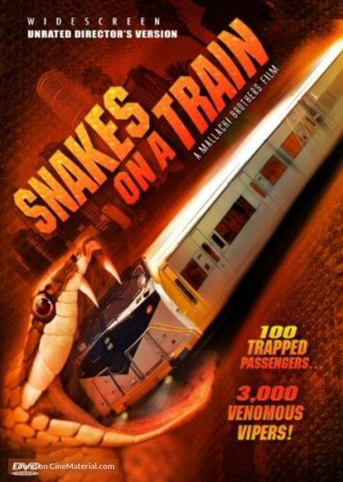 Snakes on a Train - DVD movie cover
