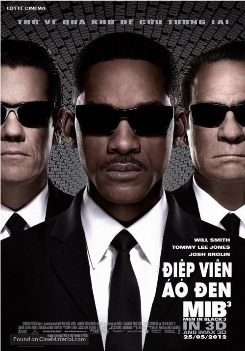 Men in Black 3 - Vietnamese Movie Poster