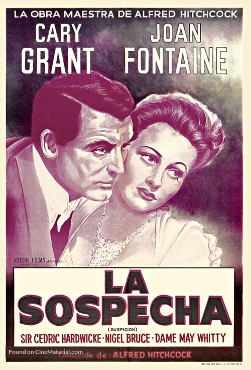 Suspicion - Argentinian Movie Poster