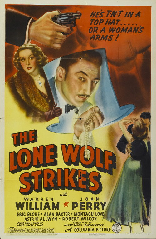 The Lone Wolf Strikes - Movie Poster