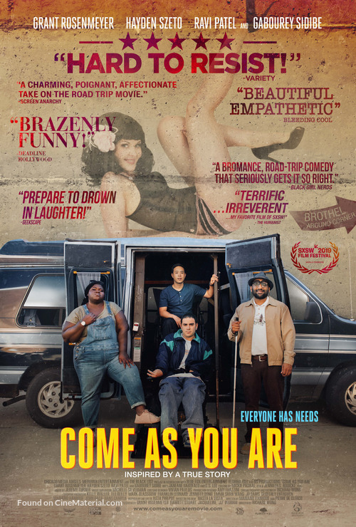 Come As You Are - Movie Poster