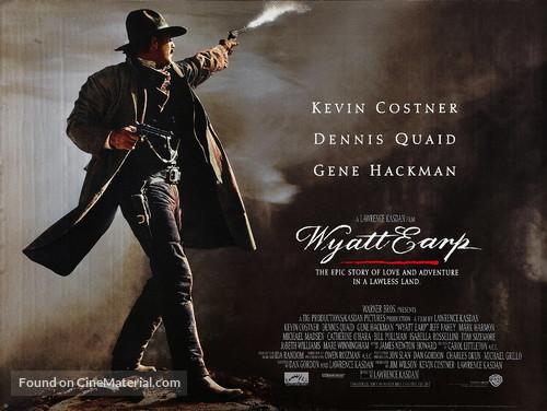 Wyatt Earp - British Movie Poster