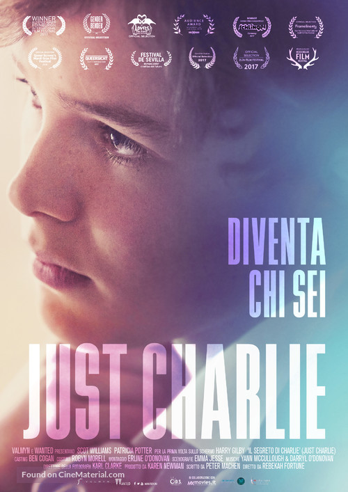 Just Charlie - Italian Movie Poster