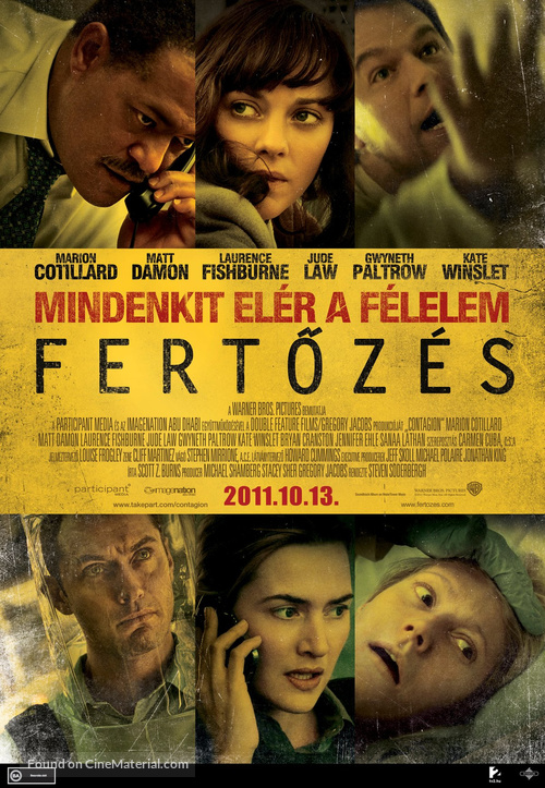 Contagion - Hungarian Movie Poster