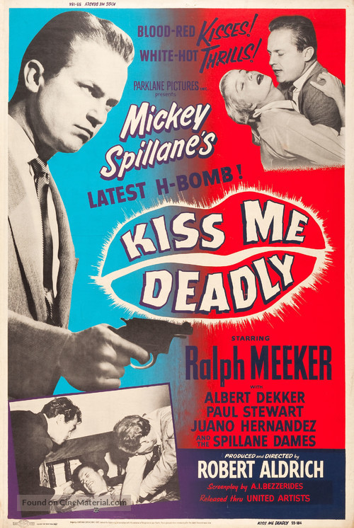 Kiss Me Deadly - Movie Poster