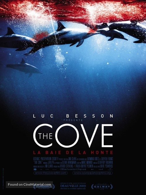 The Cove - French Movie Poster
