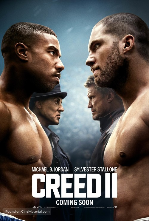Creed II - British Movie Poster