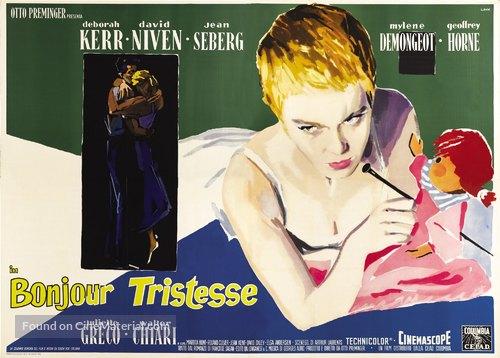 Bonjour tristesse - Italian Movie Poster