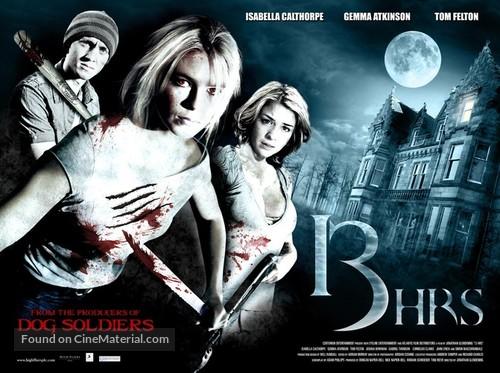 13Hrs - British Movie Poster