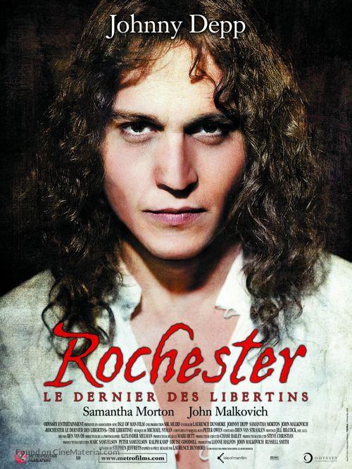 The Libertine - French Movie Poster