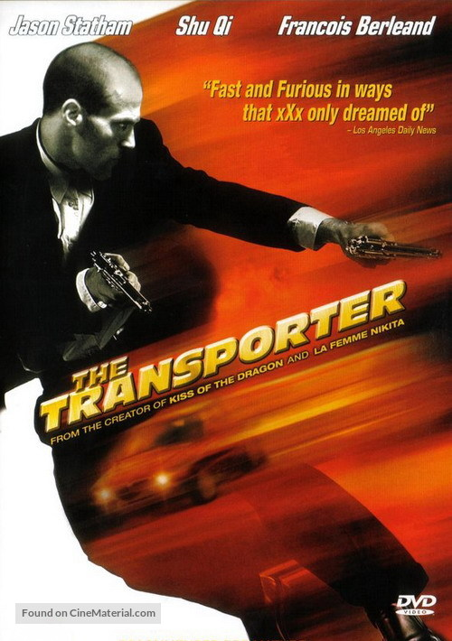 The Transporter (2002) dvd movie cover