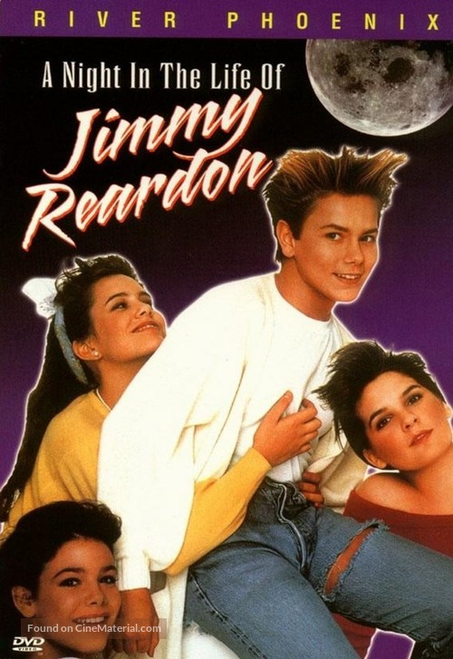 A Night in the Life of Jimmy Reardon - DVD movie cover
