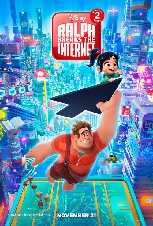 Ralph Breaks the Internet - Movie Poster