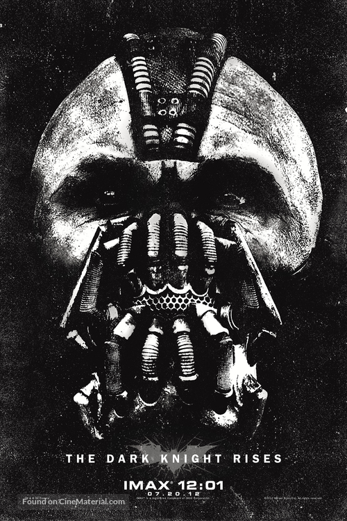 The Dark Knight Rises - Movie Poster