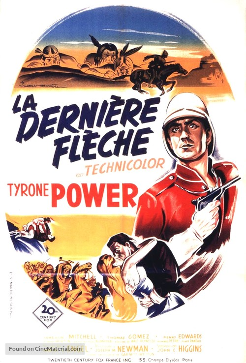 Pony Soldier - French Movie Poster