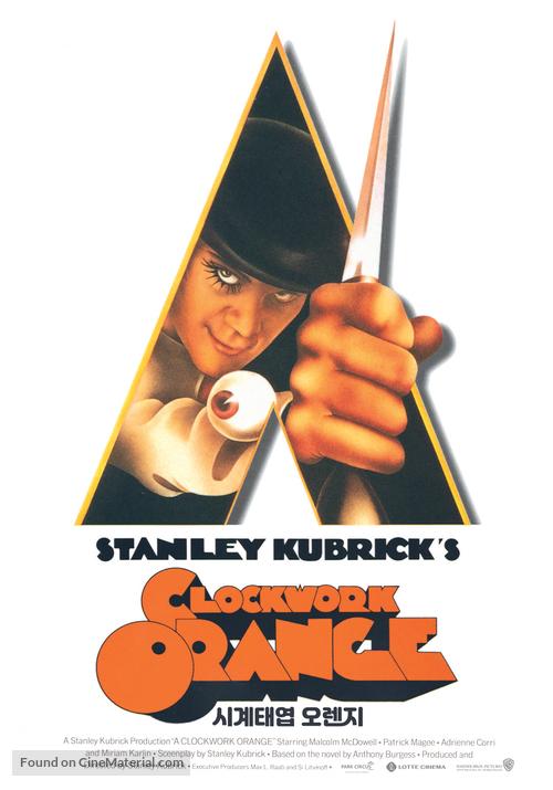 A Clockwork Orange - South Korean Movie Poster