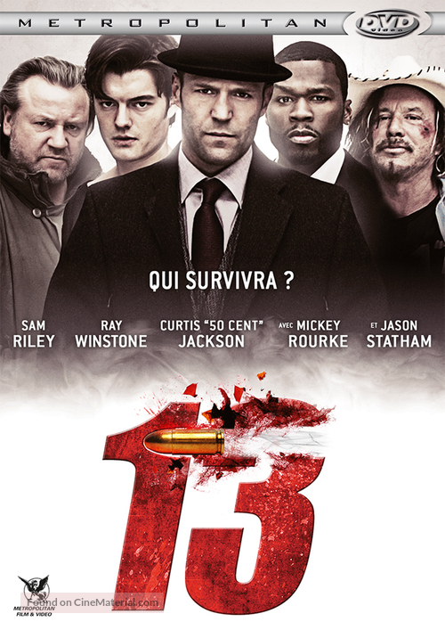 13 - French DVD cover