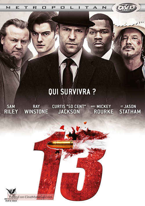 13 - French DVD movie cover