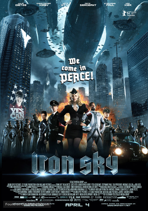 Iron Sky - Advance poster