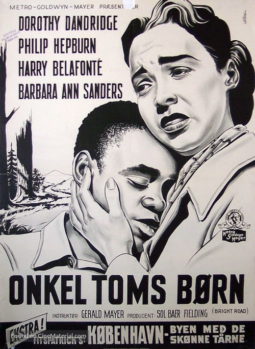 Bright Road - Danish Movie Poster