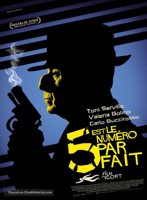 5 è il numero perfetto - French Movie Poster