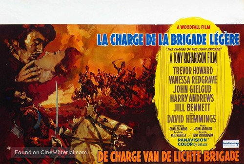 The Charge of the Light Brigade - Belgian Movie Poster
