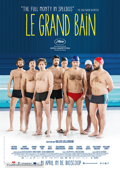 Le grand bain - Dutch Movie Poster
