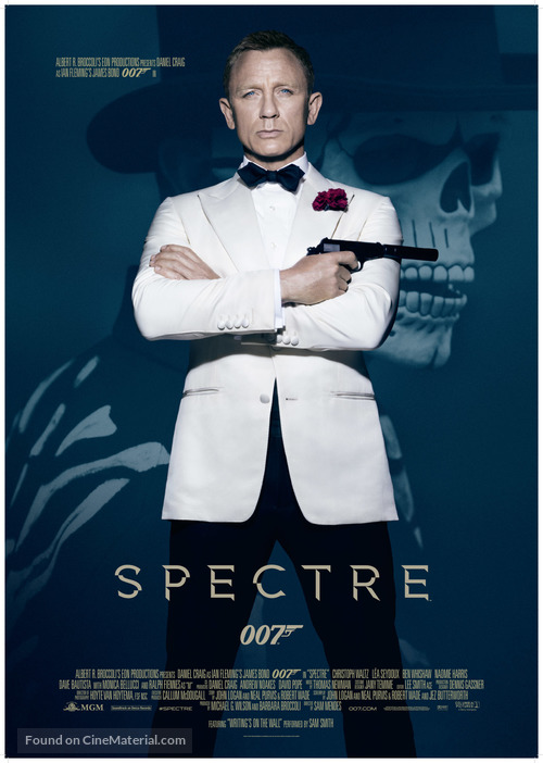 Spectre - Movie Poster