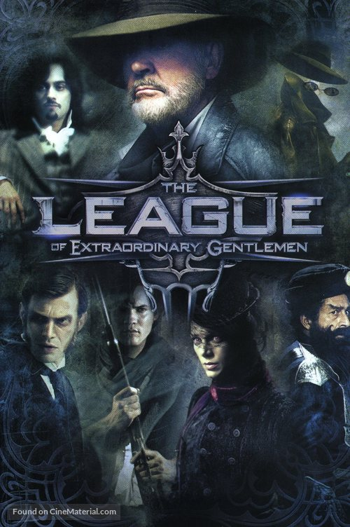 The League of Extraordinary Gentlemen - DVD cover