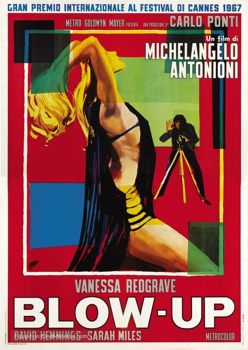 Blowup - Italian Theatrical movie poster