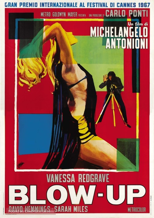 Blowup - Italian Theatrical poster