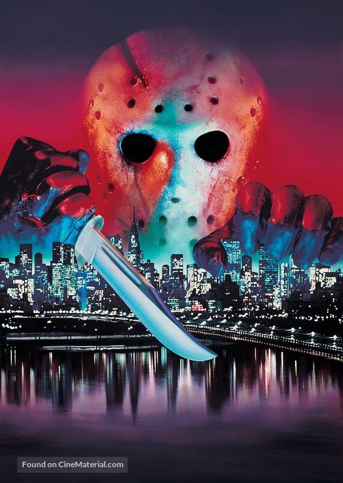 Friday the 13th Part VIII: Jason Takes Manhattan - Key art
