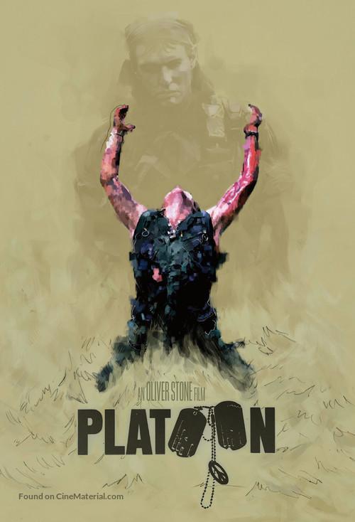 Platoon - Movie Cover