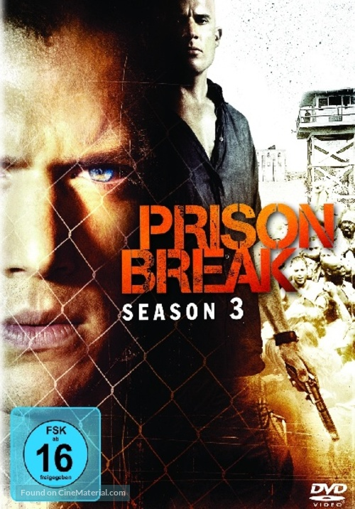 """Prison Break"" - German Movie Cover"