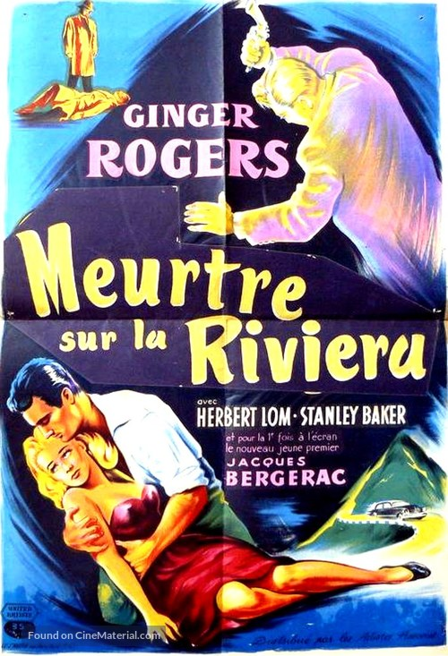 Beautiful Stranger - French Movie Poster