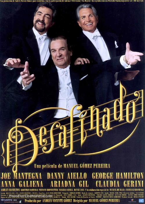 Desafinado - Spanish Movie Poster