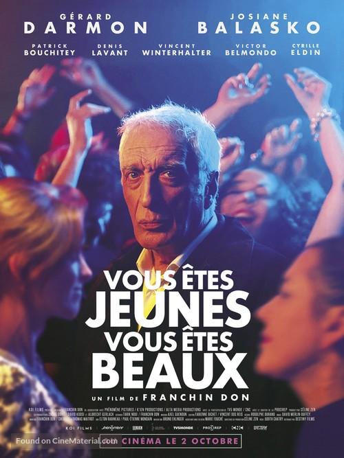 Vous êtes jeunes vous êtes beaux - French Movie Poster