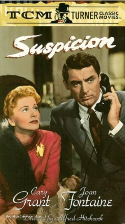 Suspicion - VHS cover