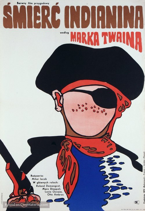 Moartea lui Joe Indianul - Polish Movie Poster