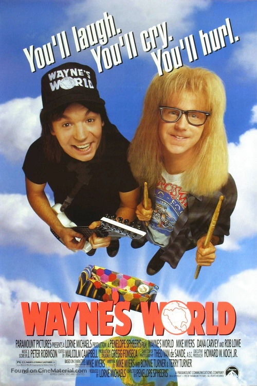 Wayne's World - Movie Poster