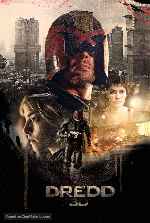Dredd - Movie Poster