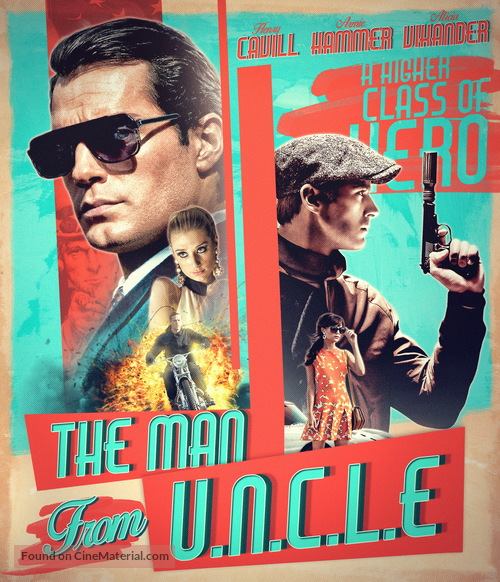 The Man from U.N.C.L.E. - Movie Cover