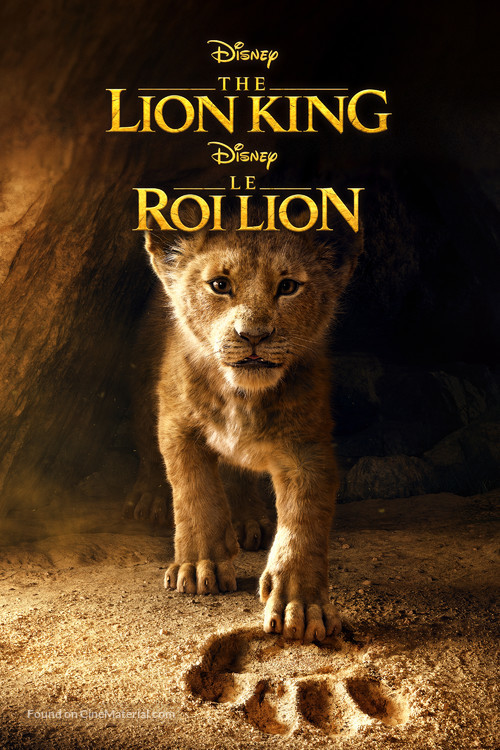 The Lion King - Canadian Movie Cover
